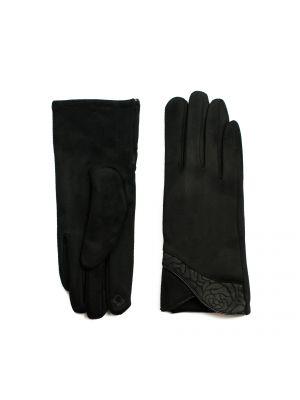 Rękawiczki materiałowe - czarne Art Of Polo
