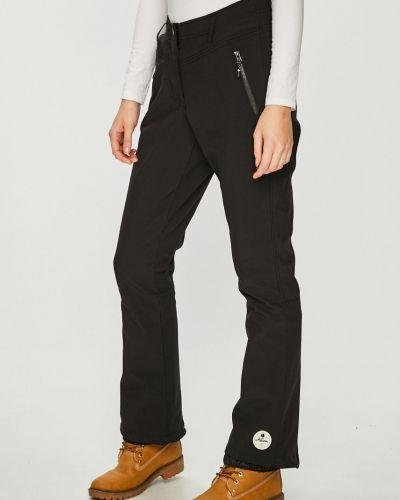 Czarne spodnie softshell peep toe Killtec