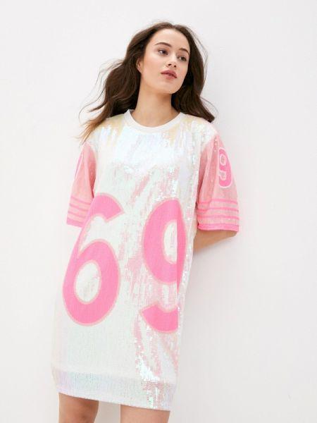 Розовое футбольное платье Care Of You