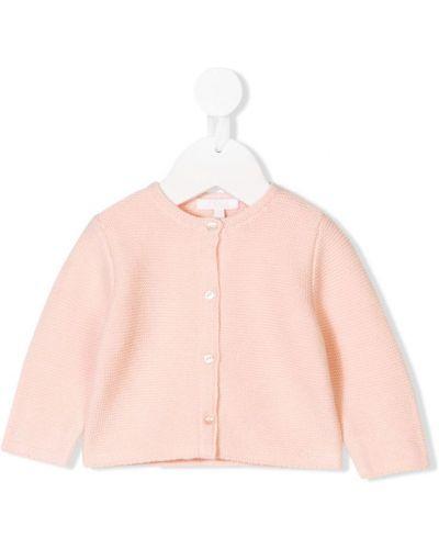 Кардиган розовый Chloé Kids