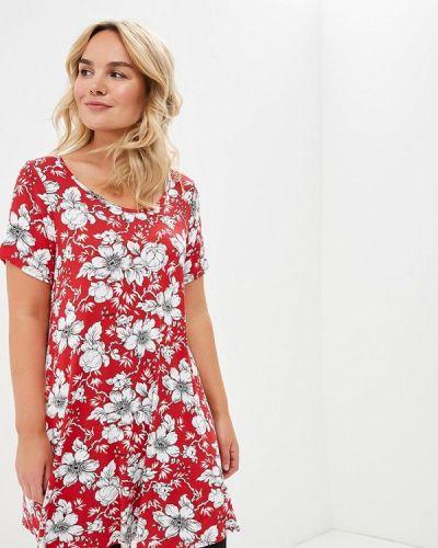Красная туника туника-блуза Evans