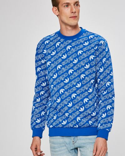 Синяя кофта Adidas Originals