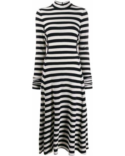 Платье миди макси в полоску Marc Jacobs