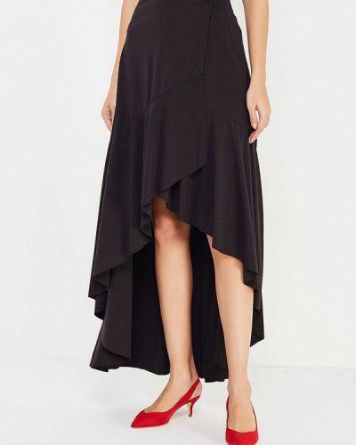 Черная юбка свободного кроя You&you