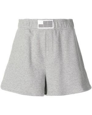 Серые спортивные шорты с карманами Matthew Adams Dolan