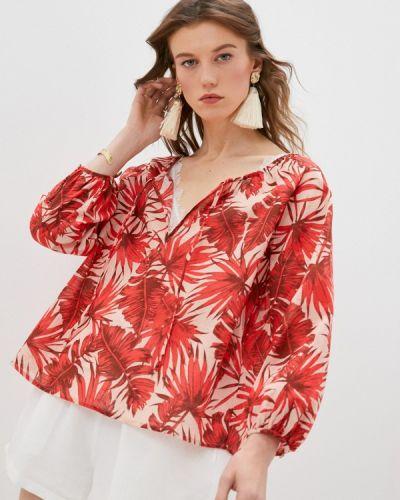 Красная блузка с бантом Seafolly Australia