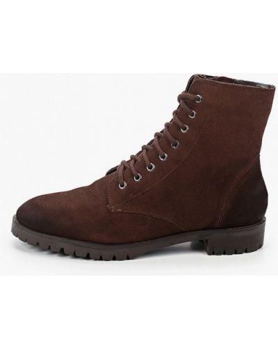 Коричневые ботинки Springfield