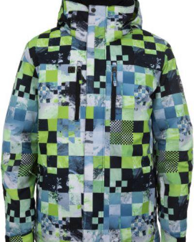 Утепленная куртка с капюшоном спортивная Quiksilver