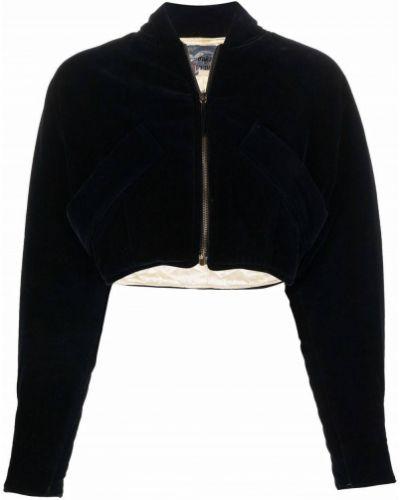 Черная куртка с высоким воротником Gianfranco Ferre Pre-owned