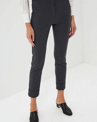Серые классические брюки Emporio Armani