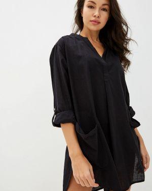 Пляжное платье осеннее черное Seafolly Australia