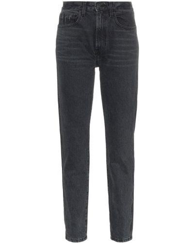 Черные прямые джинсы винтажные с карманами на пуговицах Jordache