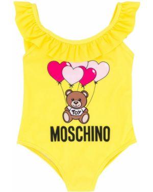 Garnitur - żółty Moschino Kids