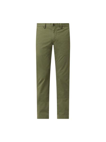 Zielone сhinosy bawełniane Polo Ralph Lauren