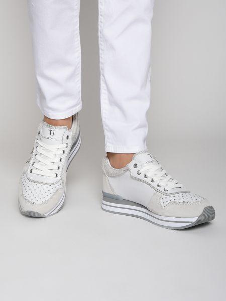 Кроссовки замшевые Trussardi Jeans