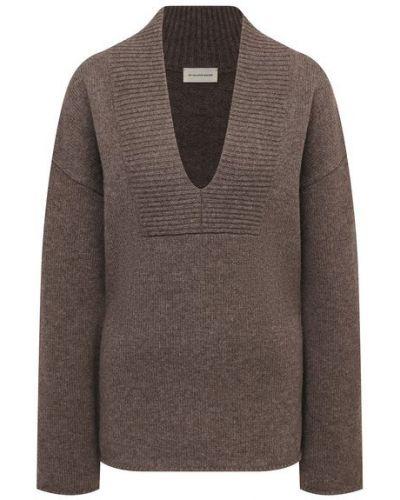 Шерстяной свитер - коричневый By Malene Birger