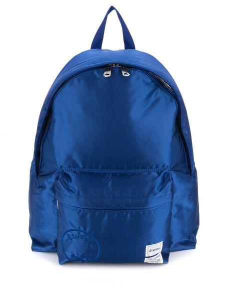 Niebieski plecak z nylonu Etudes