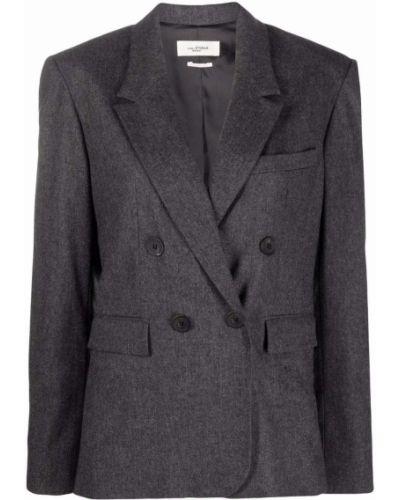 Серый пиджак из полиэстера Isabel Marant étoile