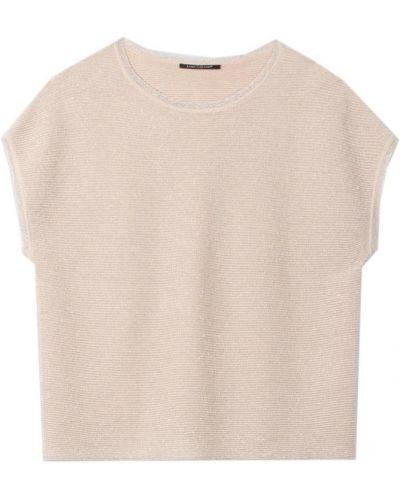 Beżowa koszulka Luisa Cerano