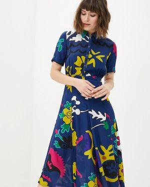 Платье платье-рубашка осеннее Desigual