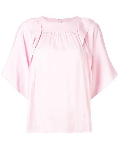 Шелковая блузка - розовая Ck Calvin Klein