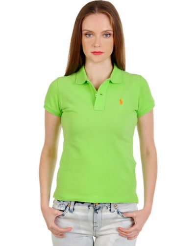 Поло зеленый Ralph Lauren