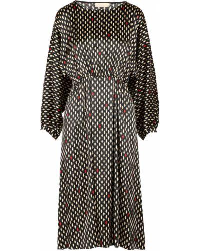 Czarna sukienka Momoni