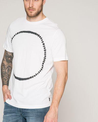 Белая футболка Diesel