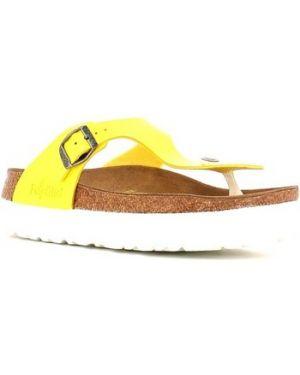 Żółte klapki Papillio