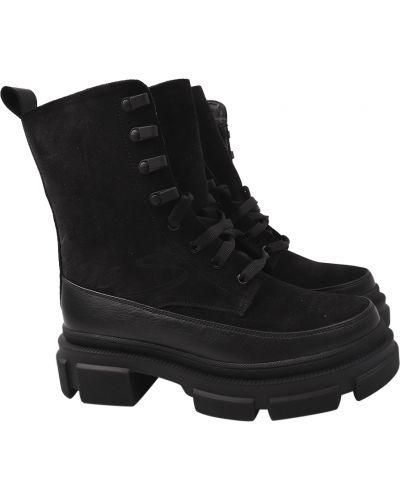 Ботинки - черные Masheros