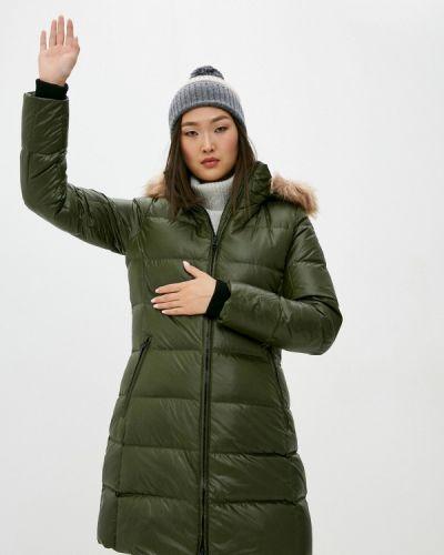 Зеленая куртка Calvin Klein