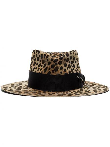 Шляпа-федора свободного кроя Nick Fouquet