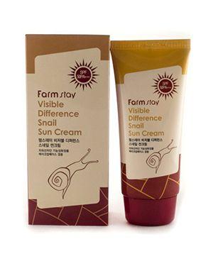 Крем солнцезащитный кожаный солнцезащитный Farmstay