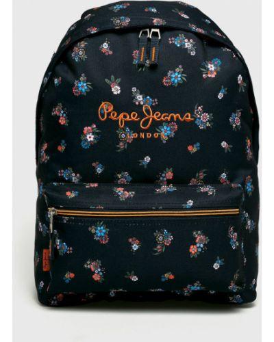 Рюкзак темно-синий синий Pepe Jeans