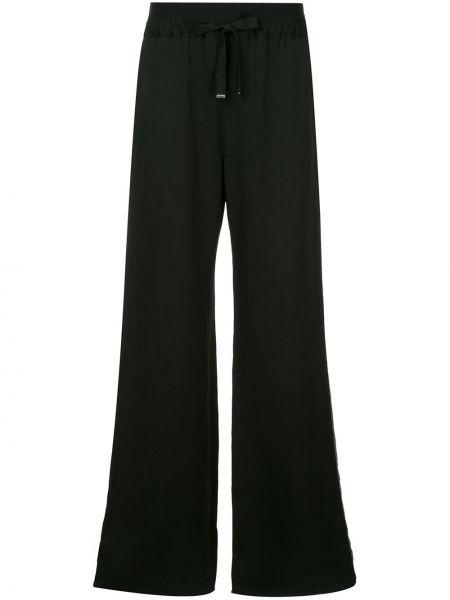 Брючные черные льняные свободные брюки свободного кроя Taylor