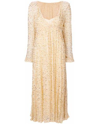 Бежевое платье Aniye By