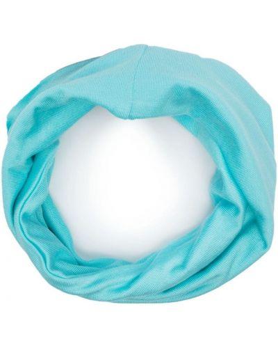 Синий снуд с вышивкой круглый Raf Simons