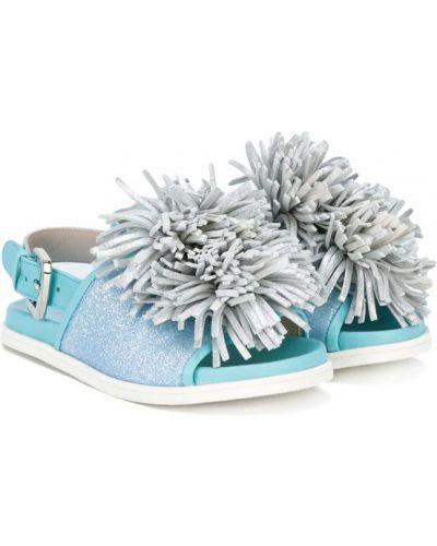 Сандалии кожаный для обуви Minna Parikka Kids