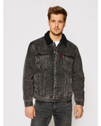 Kurtka jeansowa - czarna Levi's