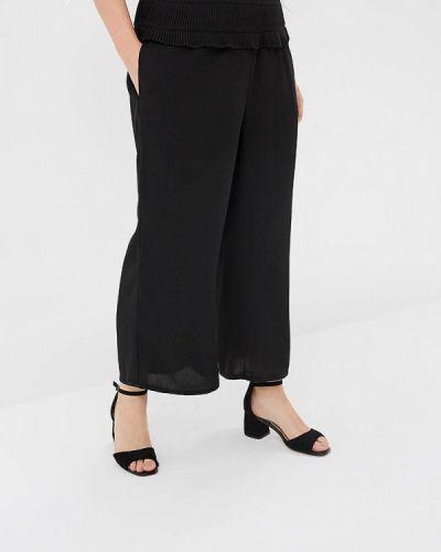 Свободные брюки черные Lost Ink Plus