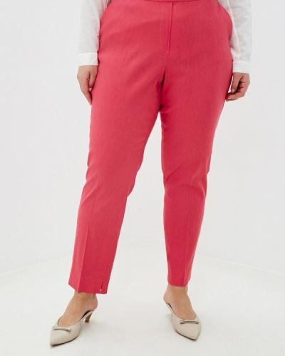Розовые прямые брюки Samoon By Gerry Weber