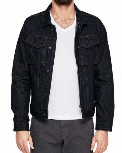 Синяя джинсовая куртка S.oliver