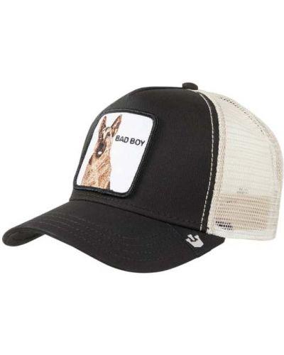 Bawełna czarny bawełna czapka z daszkiem Goorin Bros