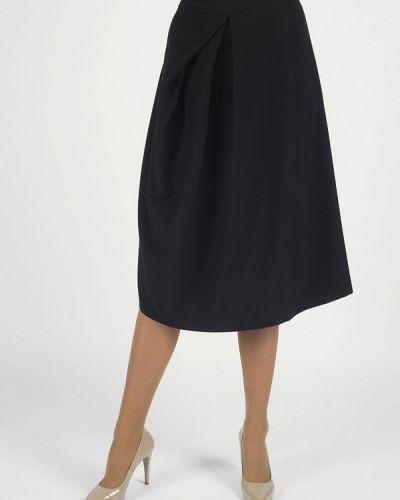 Черная юбка свободного кроя Intrico