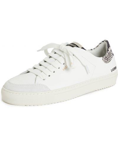 Czarne sneakersy skorzane sznurowane Axel Arigato