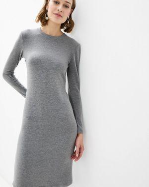 Платье серое вязаное Donatello Viorano
