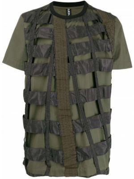 Koszula krótkie z krótkim rękawem wojskowy prosto Raeburn