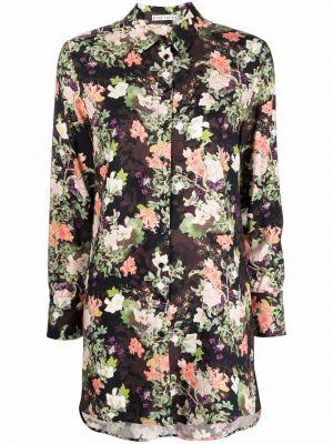 Рубашка с длинным рукавом - черная Alice+olivia