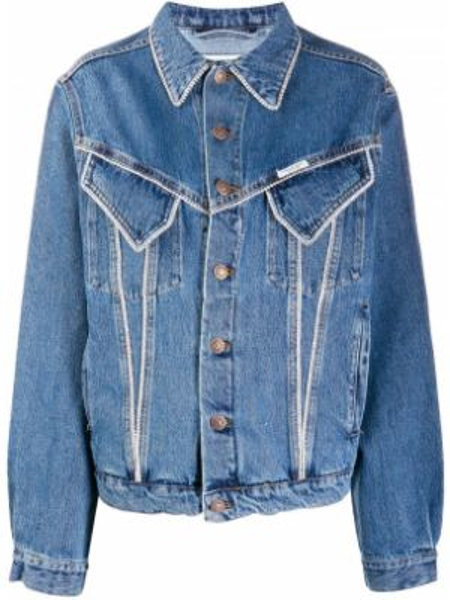 Klasyczne niebieskie jeansy bawełniane Forte Dei Marmi Couture