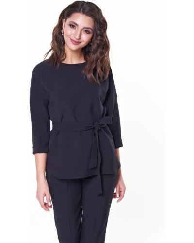 Блузка с поясом классическая Valentina